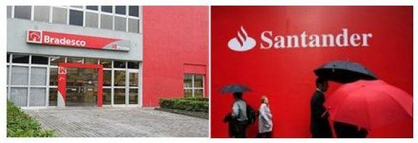 Bradesco e Santander lucram R$ 18 bi, mas cortam 7.267 empregos