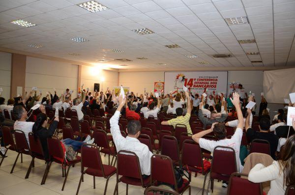 Umuarama sediou a 14ª Conferência Estadual dos Bancários