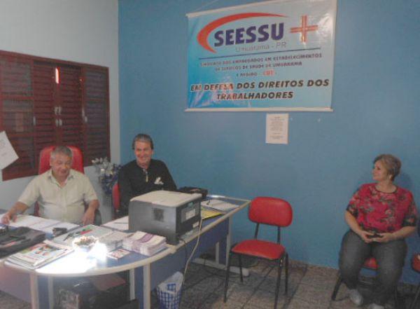 CUT Regional Noroeste fez reunião em Umuarama