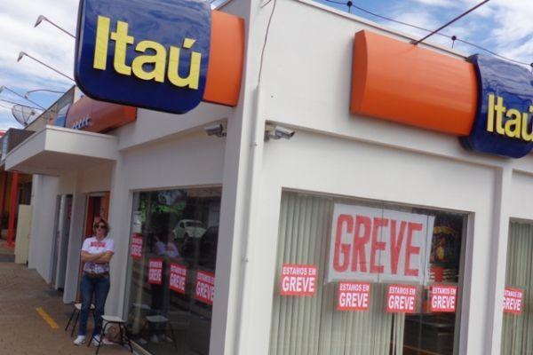 Greve: bancários do Pactu firmes na luta