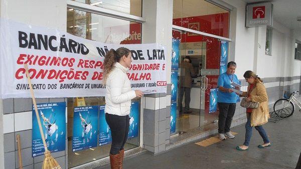 Sindicatos do Pactu encerram atividades da Campanha de Valorização dos Funcionários do Bradesco