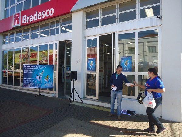 Sindicatos do Pactu prosseguem Campanha de Valorização dos Funcionários do Bradesco