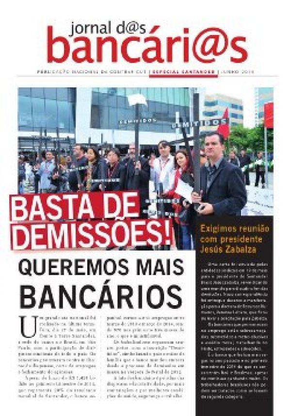 Bancários insistem em reunião com presidente do Santander sobre demissões
