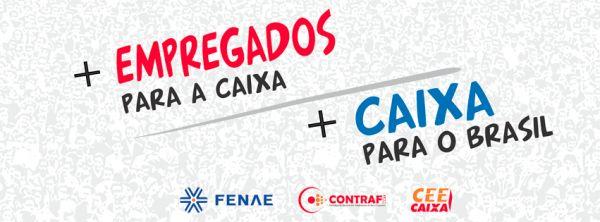 Contraf convoca participação no Dia Nacional de Luta por Contratação na Caixa