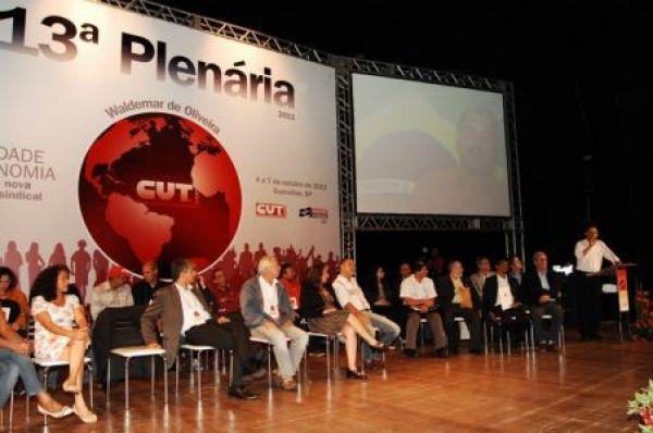 13ª Plenária da CUT - Liberdade e Autonomia: por uma nova estrutura sindical