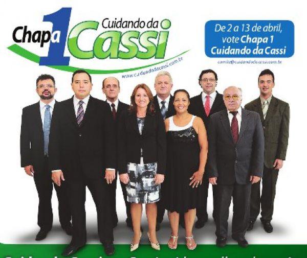 Contraf-CUT apoia Chapa 1 nas eleições da CASSI