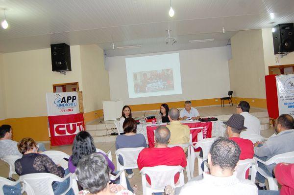 Presidenta da CUT-PR participa de reunião da CUT Regional Noroeste
