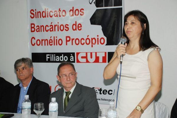 Sindicatos do Pactu participaram da posse da nova Diretoria do Sindicato dos Bancários de Cornélio Procópio
