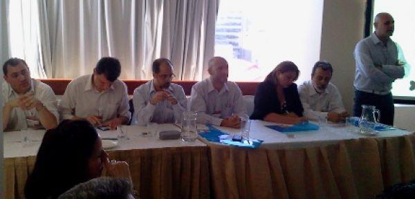 Começa reunião das Redes Sindicais do Itaú, Santander, HSBC e BBVA