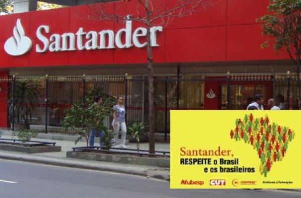 Contraf-CUT exige reunião sobre demissões com presidente do Santander