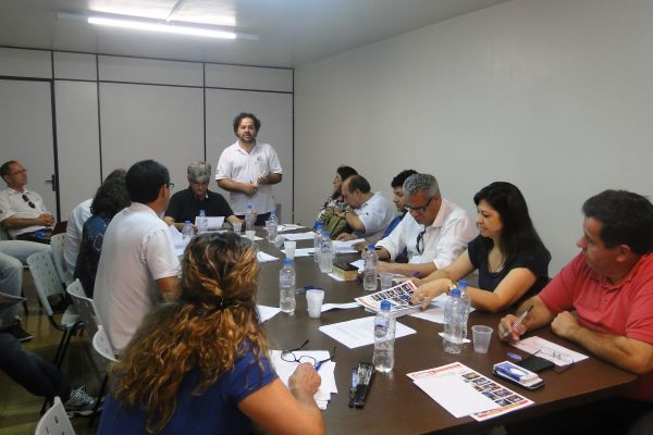 Reunião da Executiva Estadual da Fetec-Pr