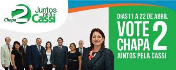 Vote na chapa 2, Juntos pela Cassi