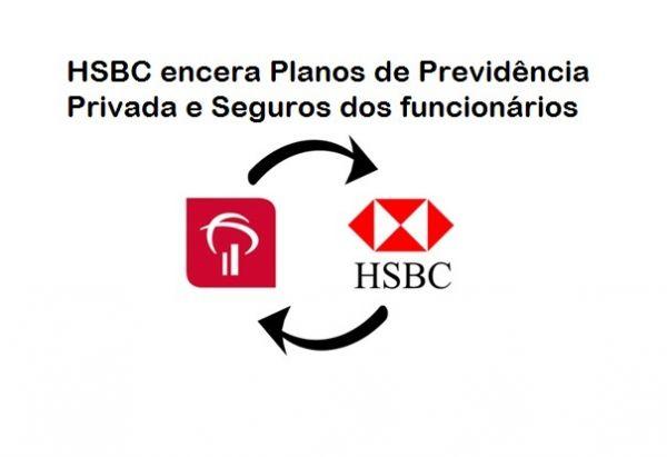Bancários do HSBC recebem aviso de encerramento dos planos de previdência privada e seguros