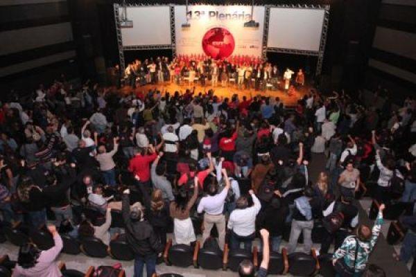 Paralisação no aeroporto de Guarulhos em defesa da classe trabalhadora e da soberania nacional encerra 13ª