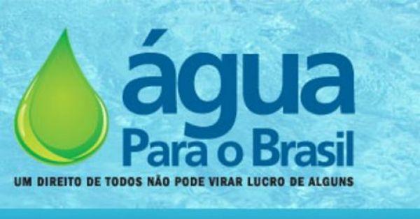 CUT, FNU e movimentos sociais lançam campanha pelo controle público no fornecimento de água