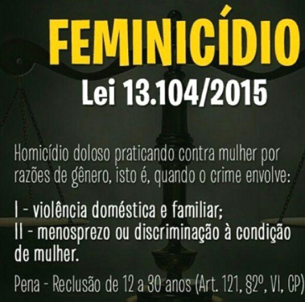 Lei do Feminicídio completa um ano