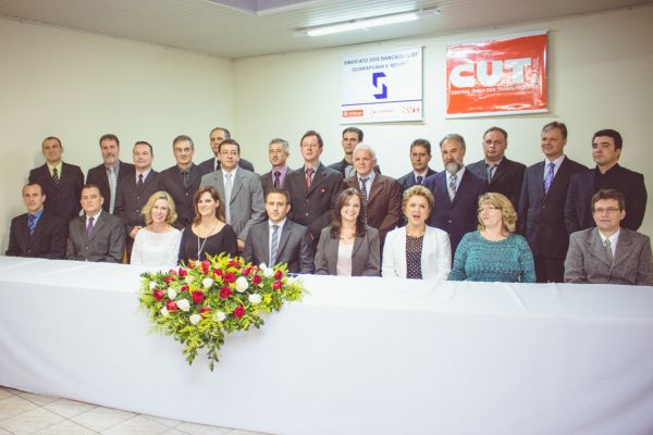 Posse da Diretoria do Sindicato dos Bancários de Guarapuava e Região