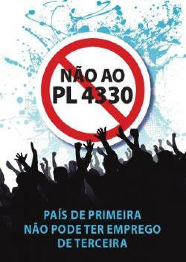 CUT prepara vigília em Brasília para dia 13 contra PL 4330 da terceirização