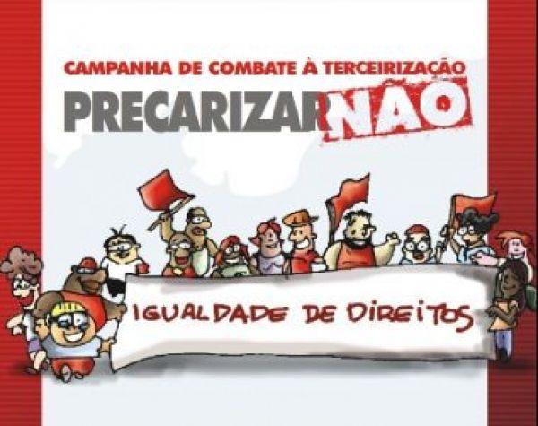 CUT, CTB e Nova Central negociam nesta terça-feira (8) alterações no PL de terceirização