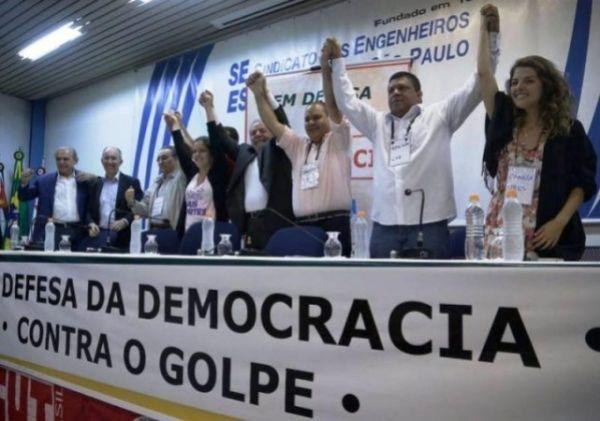 Lideranças partidárias, sindicais e sociais definem linha de ação contra o golpe, nas ruas e no Congresso