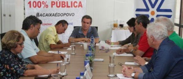 Comitê Nacional em Defesa da Caixa quer audiência com Miriam Belchior