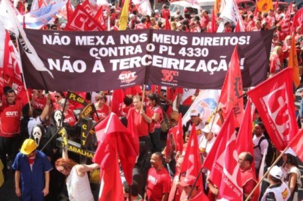 Contraf-CUT chama bancários a participar das mobilizações no dia 13