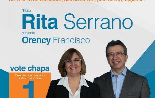 O Brasil todo está com a Chapa 1! Eleição começa às 8h desta segunda, dia 12