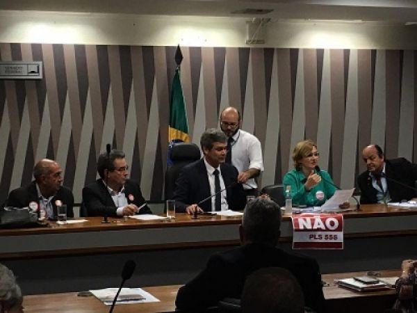 Forte Mobilização consegue adiar votação do PLS 555 mais uma vez em Brasília