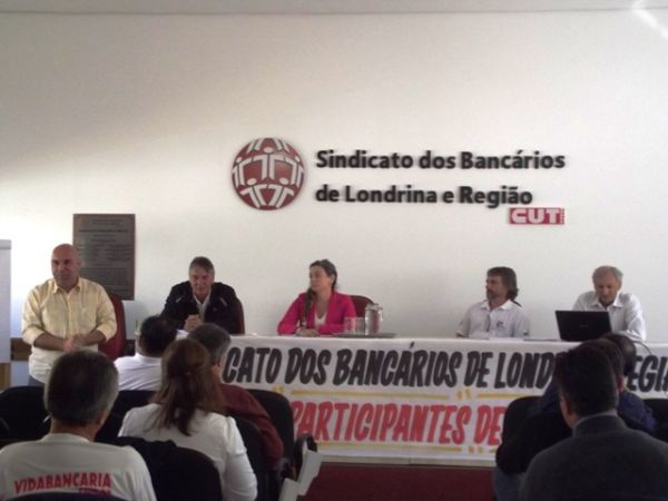 Sindicatos do Pactu participaram do Encontro Estadual do HSBC