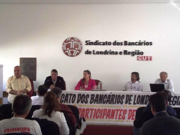 Sindicatos do Pactu participaram do Encontro Estadual do HSBC