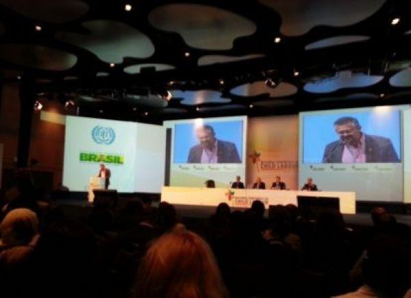III Conferência Global: CUT cobra compromisso em erradicar trabalho infantil