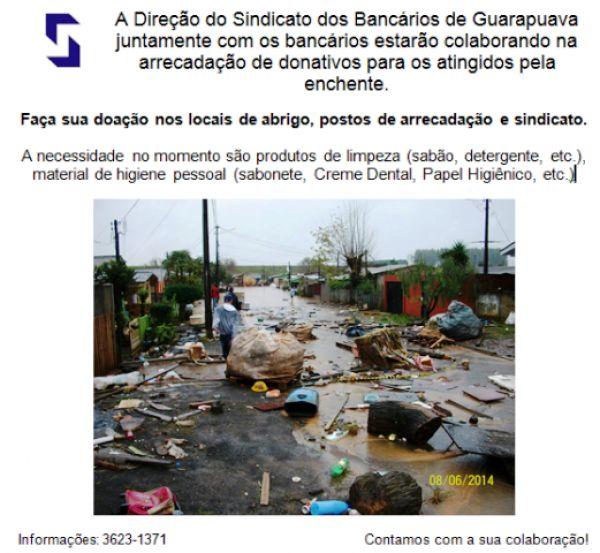 SEEB de Guarapuava troca fechamento de agências do Itaú por ação solidária.