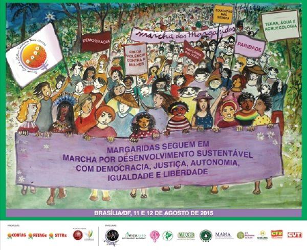 Contraf participará da Marcha das Margaridas em Brasília