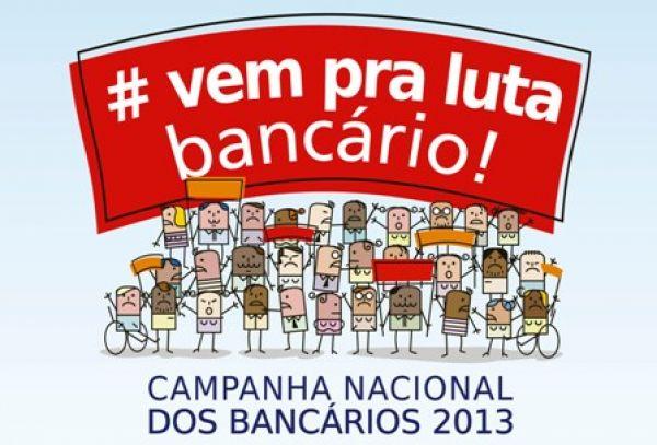 Assembleias dos bancários nesta quinta votam greve a partir do dia 19