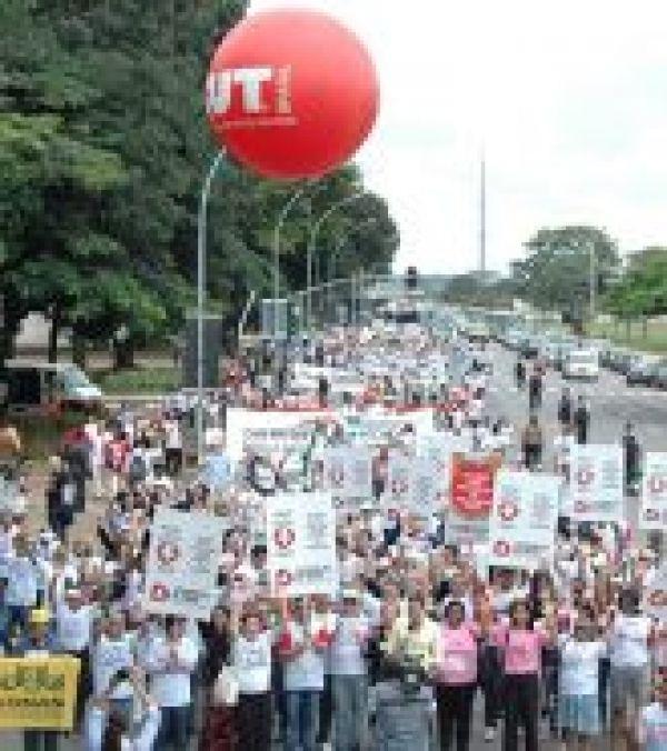 Movimento Saúde+10 ocupa Brasília e reforça luta por 10% do orçamento da União para a saúde pública