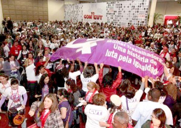 11º CONCUT: Trabalhadoras CUTistas fazem história e aprovam a paridade de gênero nas direções