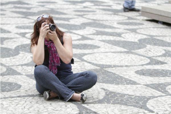 Sandra Machado participou do Curso de Fotografia com Joka Madruga