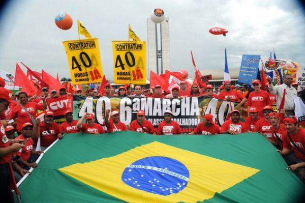 Em defesa dos direitos, salários e empregos, centrais organizam Marcha à Brasília