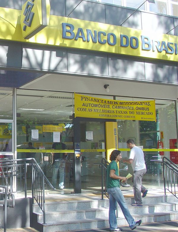 O Banco do Brasil anunciou lucro líquido recorde de R$ 12,1 bilhões em 2011, crescimento de 3,6% em relaçã