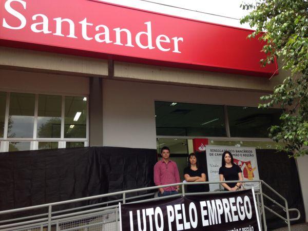 Santander fecha uma das agências em Campo Mourão