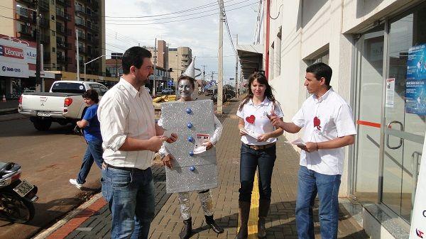 Campanha de valorização dos funcionários do Bradesco prossegue no Pactu