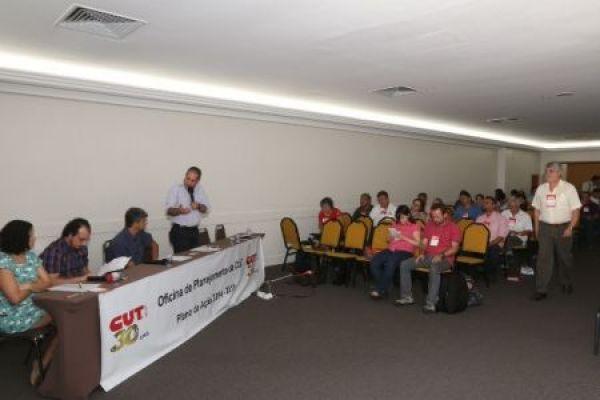 CUT debate e define seu Plano de Ação para 2014/2015