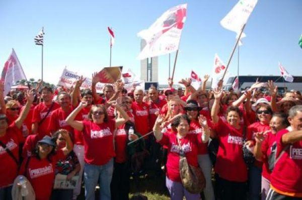 No primeiro dia de greve da Educação, 23 estados e o DF mobilizam suas bases