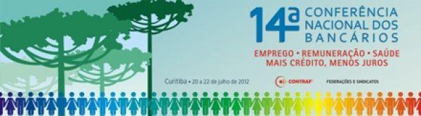 Contraf-CUT divulga programação da 14ª Conferência Nacional dos Bancários