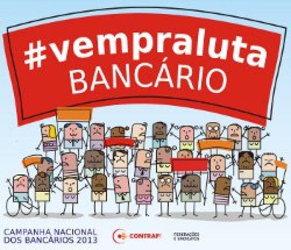 Assembleias de bancários organizam greve nacional a partir desta quinta