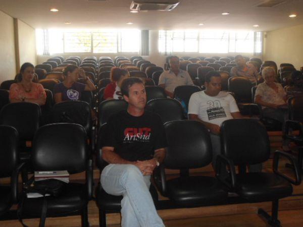 Dirigente do Pactu participa de reunião da Direção Estadual da CUT-PR