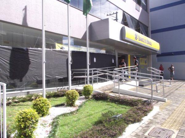 Manifestação contra o novo plano de funções do Banco do Brasil