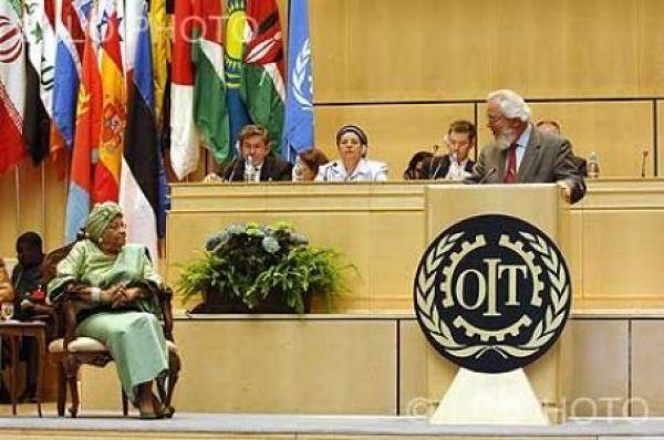 Delegação cutista marca presença na OIT contra retrocesso político e social