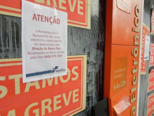 Contraf-CUT repudia truque do Itaú de fechar caixas eletrônicos na greve
