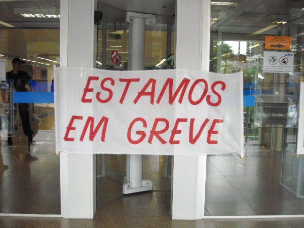 A greve em Guarapuava e região